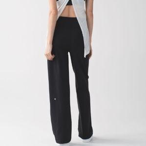 Lululemon high rise s10 sit in stillness pant adjustable fit and length